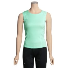 Lauren Hansen Jersey Tank Top - Cotton-Modal (For Women) in Aqua - Closeouts