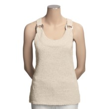 Lauren Hansen Tape Yarn Tank Top - Ring Detail (For Women) in Natural - Closeouts