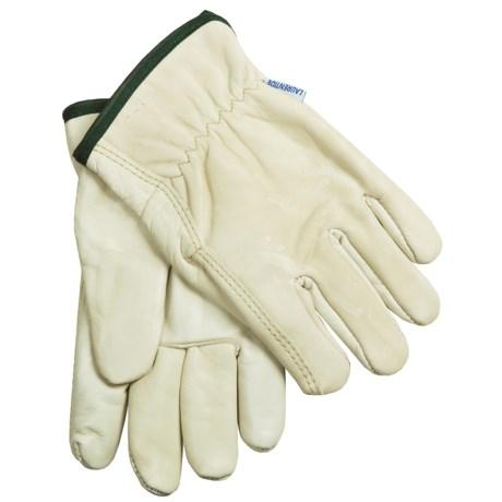 Laurentide Cowhide Work Gloves - Lined (For Men)
