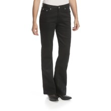 Lawman Faith Bootcut Jeans - Mid Rise, Slim Fit (For Women) in Black - Closeouts