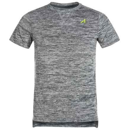 Layer 8 AL1VE Chunky Heathered T-Shirt - Short Sleeve (For Big Boys) in Greystone - Closeouts