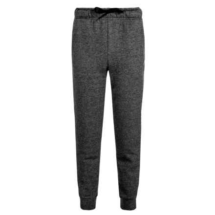 Layer 8 AL1VE CVC Static Joggers (For Big Boys) in Black Heather - Closeouts
