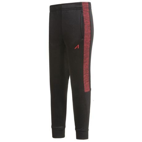 Layer 8 AL1VE Tech Fleece Joggers (For Big Boys) in Black/Gym Red
