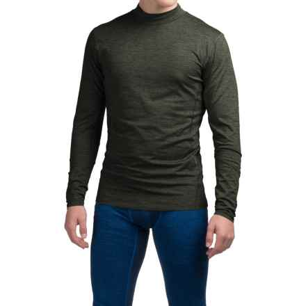 Layer 8 Cold Weather Shirt - Long Sleeve (For Men) in Dark Olive Heather - Closeouts
