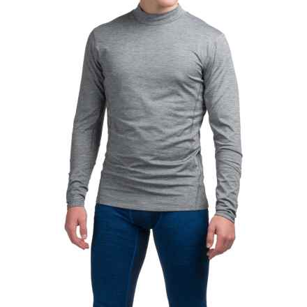 Layer 8 Cold Weather Shirt - Long Sleeve (For Men) in Grey Flannel Heather - Closeouts