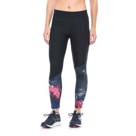 Layer 8 Compression Leggings (For Women) in Flower Bomb - Closeouts