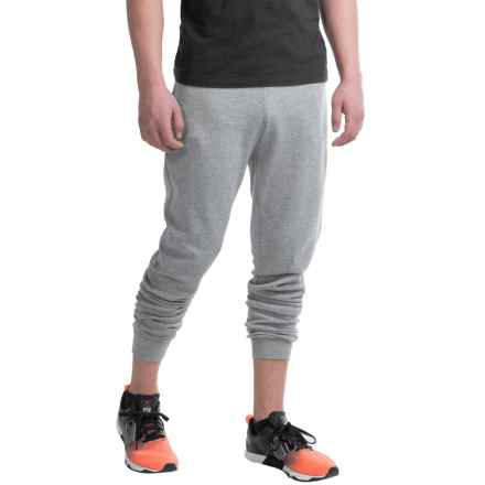 Layer 8 CVC Fleece Joggers (For Men) in Med Grey Heather - Closeouts