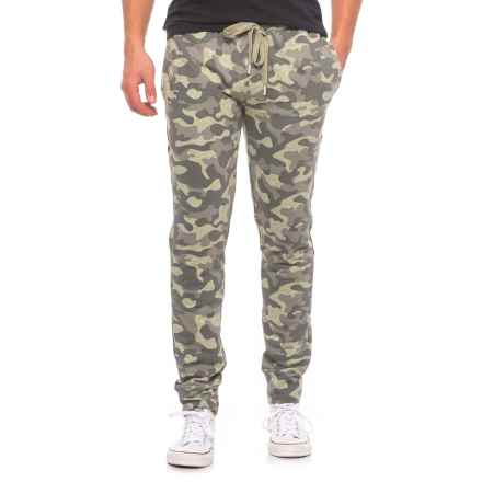 Layer 8 Drawstring Pants (For Men) in Camo Olive - Closeouts
