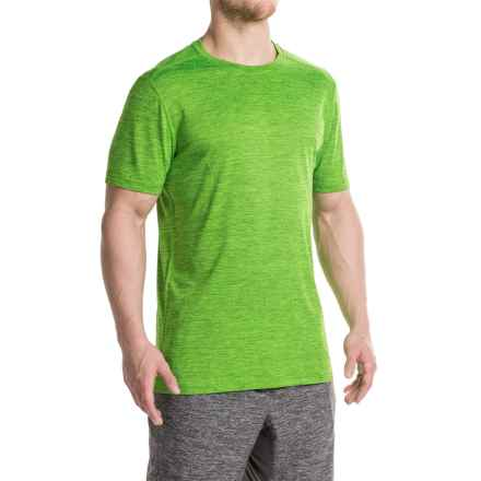 Layer 8 Fleck Heather T-Shirt - Short Sleeve (For Men) in Green Apple - Closeouts