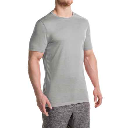 Layer 8 Fleck Heather T-Shirt - Short Sleeve (For Men) in Grey - Closeouts