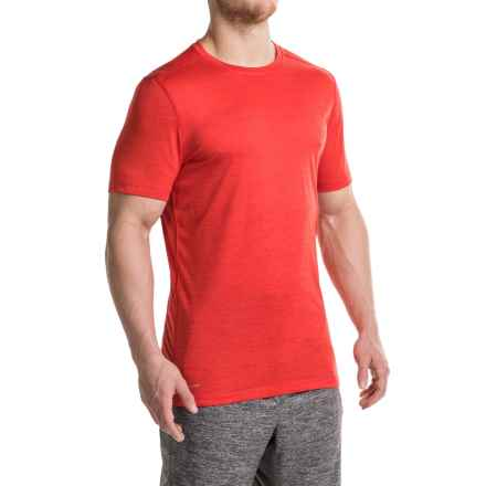 Layer 8 Fleck Heather T-Shirt - Short Sleeve (For Men) in Gym Red - Closeouts