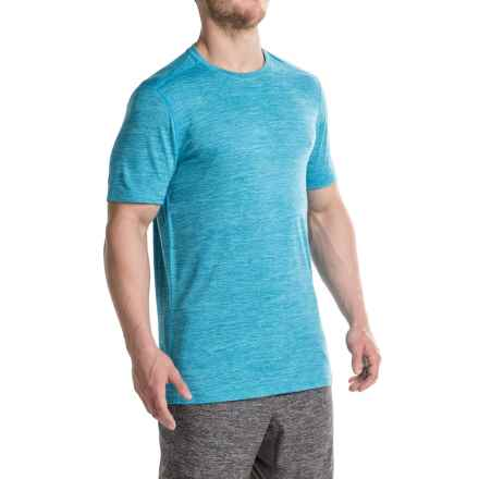 Layer 8 Fleck Heather T-Shirt - Short Sleeve (For Men) in Neptune - Closeouts