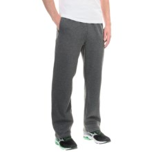 Layer 8 Fleece Pants (For Men) in Charcoal Grey Heather - Closeouts