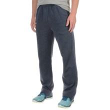 Layer 8 Fleece Pants (For Men) in Dark Navy Heather - Closeouts