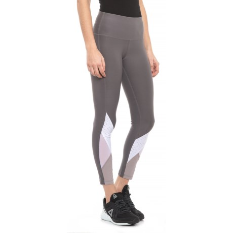 c412ed9718 Layer 8 Free Style Leggings (For Women) in Sleek Grey/Arctic White/