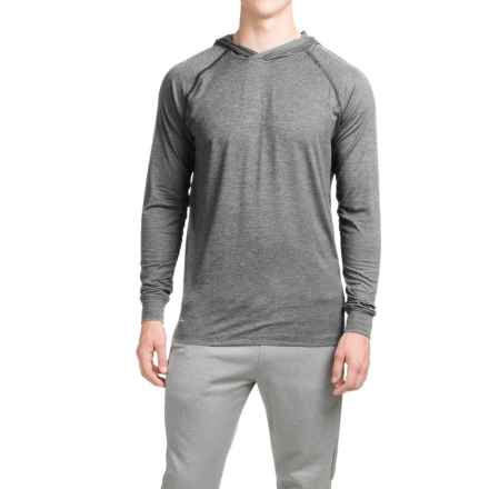 Layer 8 Heathered Hooded Shirt - Long Sleeve (For Men) in Greystone/Greystone - Closeouts