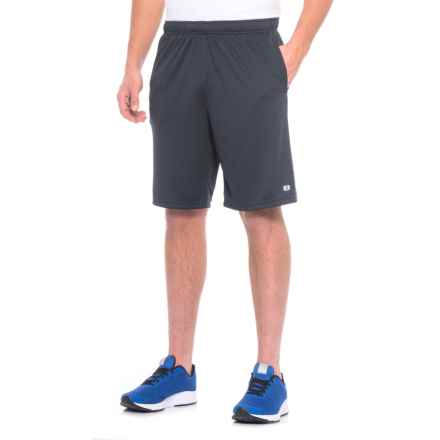 Layer 8 Heathered Knit Training Shorts (For Men) in Midnight Heather - Closeouts