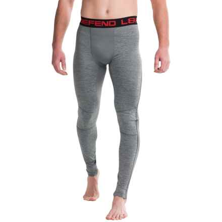 Layer 8 Heathered Tights (For Men) in Grey Flannel Heather - Closeouts