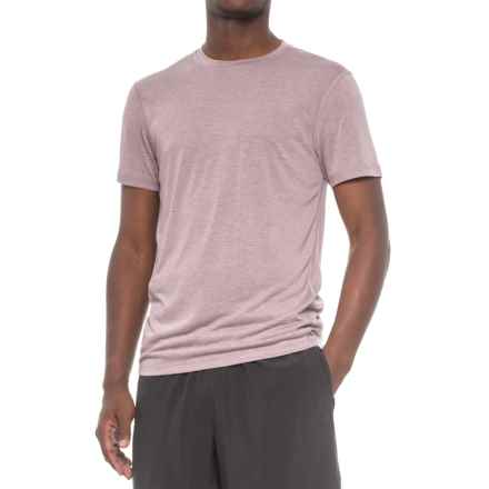 Layer 8 Heathered Training T-Shirt - Short Sleeve (For Men) in Huckleberry Heather - Closeouts