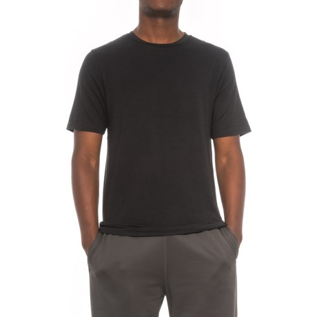 Layer 8 Lounge T-Shirt - Short Sleeve (For Men) in Black