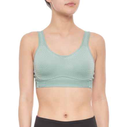 4071c97d2d395 Layer 8 Madison Max Support Sports Bra (For Women) in Seafom