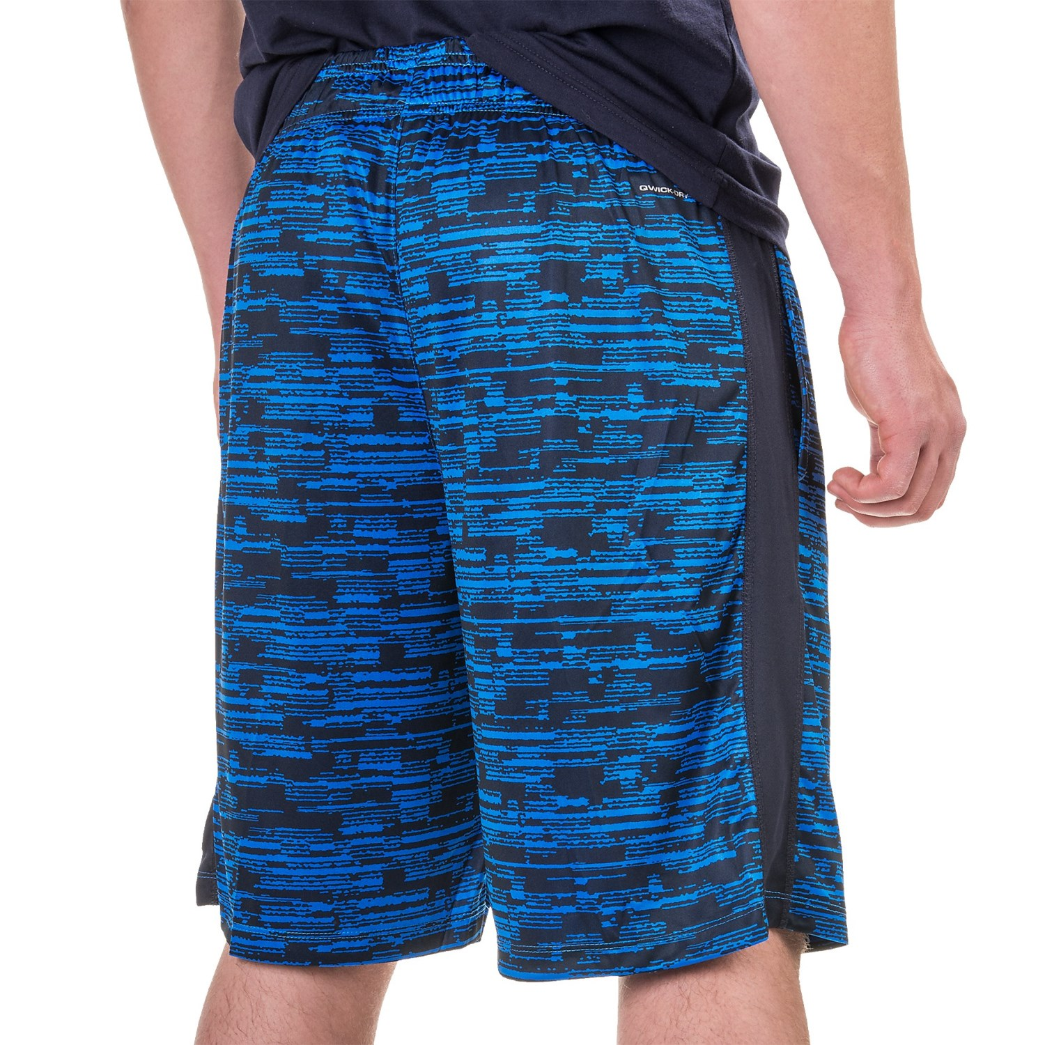 Layer 8 Printed Knit Training Shorts (For Men) - Save 78%