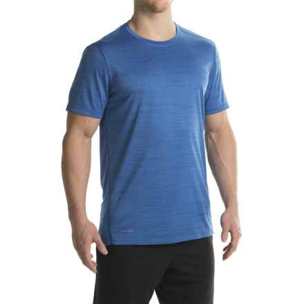 Layer 8 Space-Dyed Heather T-Shirt - Crew Neck, Short Sleeve (For Men) in Photo Blue Heather - Closeouts