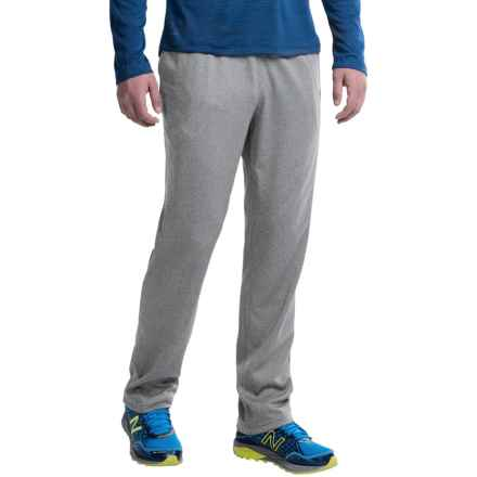 Layer 8 Tech Fleece Track Pants (For Men) in Med Grey Heather - Closeouts