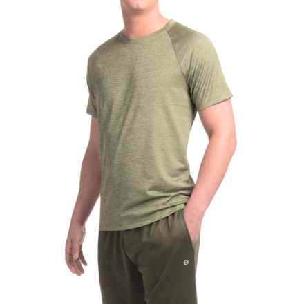 Layer 8 Training T-Shirt - Short Sleeve (For Men) in Light Olive - Closeouts