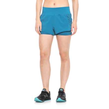 Layer 8 Woven Shorts (For Women) in Seaport - Closeouts