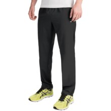 Layer 8 Woven Stretch Pants (For Men) in Rich Black - Closeouts