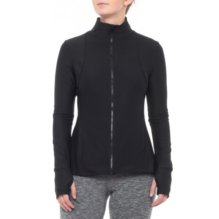 b25adc99636fe Layer 8 Yoga Jacket (For Women) in Rich Black - Closeouts