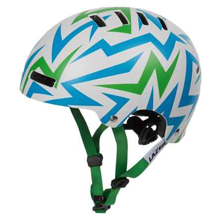 Lazer Sport Street+ Jr. Cycling Helmet (For Big Kids) in Electric Green - Overstock