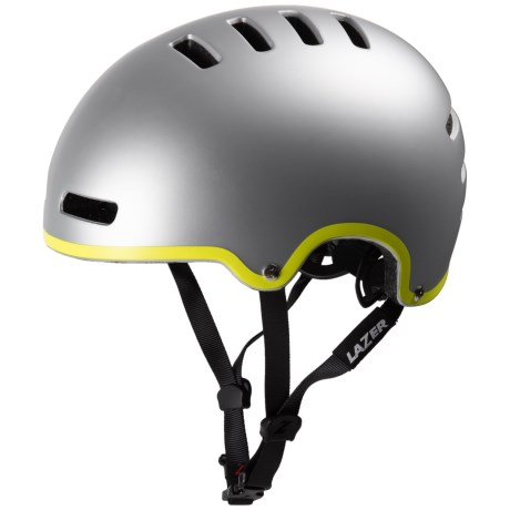 Lazer Sports Armor Urban Bike Helmet in Matte Silver