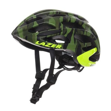 Lazer Sports Blade Bike Helmet in Matte Camo Flash Yellow