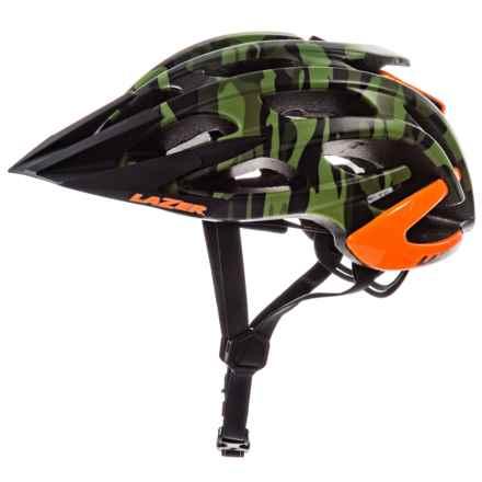 Lazer Sports Magma MTB Helmet (For Men and Women) in Matte Camo Flash Orange - Overstock