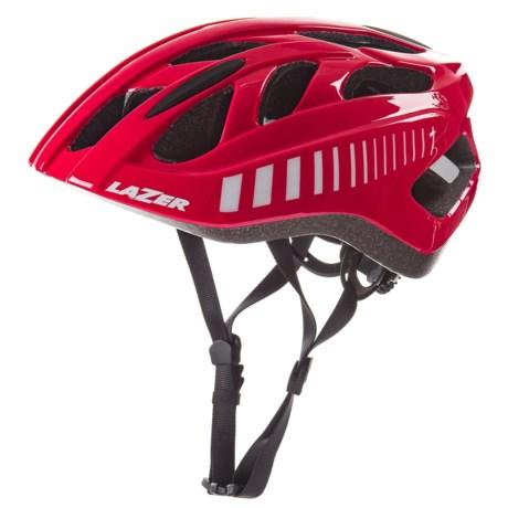 Lazer Sports Motion Bike Helmet in Red