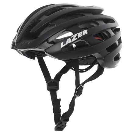 Lazer Sports Z1 Cycling Helmet with LifeBEAM® Heart Rate Monitor (For Men) in Matte Black - Closeouts