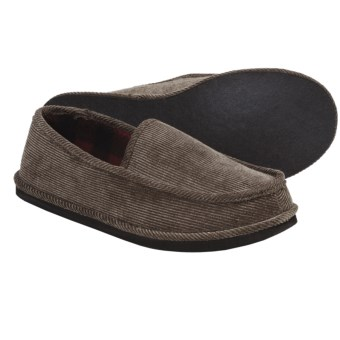 L.B. Evans Hideaways Duncan Slippers (For Men) in Dark Wheat