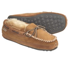 L.B. Evans Hideaways Eastlake Slippers - Shearling (For Men) in Natural - Closeouts