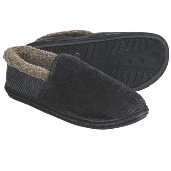 L.B. Evans Sussex Slippers (For Men) in Charcoal