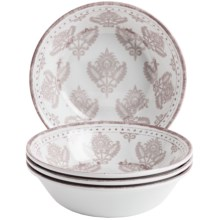 Le Cadeaux Cambria Cereal Bowls - Set of 4 in White - Closeouts