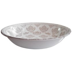 Le Cadeaux Cambria Serving Bowl in White
