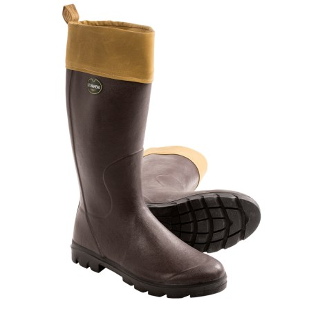 Le Chameau Anjou Rubber Boots Tin Cloth (For Men)