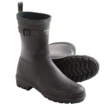 Le Chameau Bon Low Rain Boots - Waterproof (For Women) in Black - 2nds