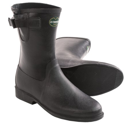 Le Chameau Cavaliere Low Rubber Boots (For Women)