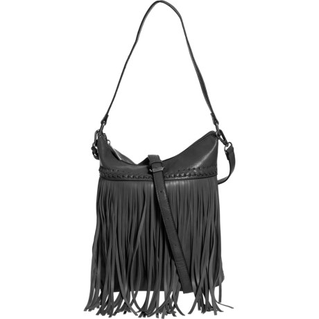 2a4e4e75a5 Le Miel Messenger Crossbody Bag - Vegan Leather (For Women) in Black