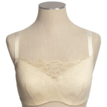 Le Mystere Cambria Lace Cami Bra (For Women) in Ivory - Closeouts