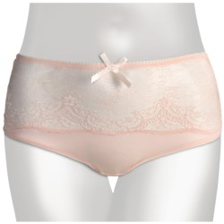 Le Mystere Dream Luxe Panties - High-Rise Briefs (For Women) in Crystal Pink