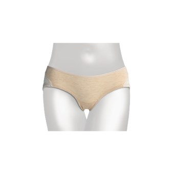 Le Mystere Heather Jersey Underwear - Boyshort (For Women) in Sand
